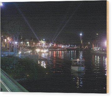 Universal Orlando Resort - 12124 Wood Print by DC Photographer