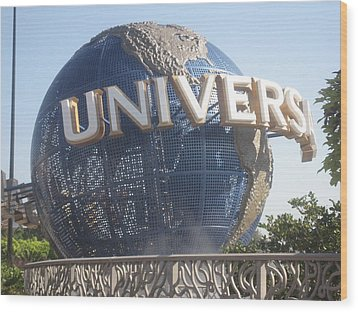 Universal Orlando Resort - 12125 Wood Print by DC Photographer