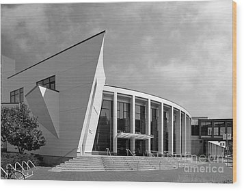University Of Minnesota Regis Center For Art Wood Print by University Icons