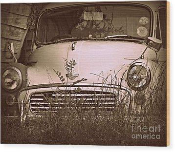 Unloved Wood Print