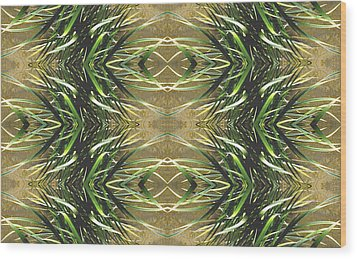 Unnatural 16 Wood Print by Giovanni Cafagna