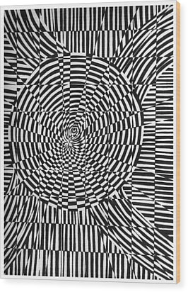 Unraveled Wood Print