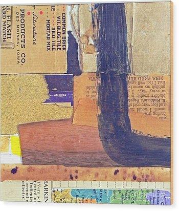 Unsatisfactory1 Wood Print