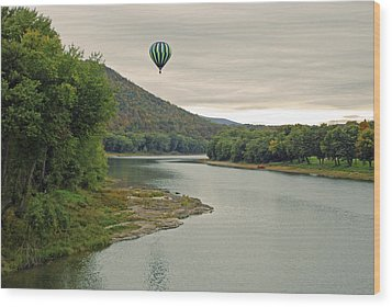 Untethered Wood Print by Jim Cook