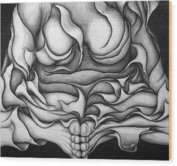 Untitled 26 Wood Print