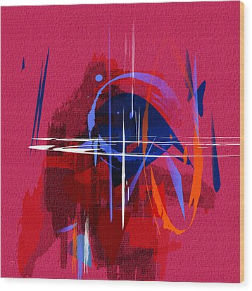 Untitled 30 Wood Print by Andrew Penman