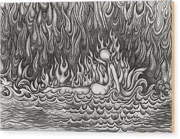 Untitled 33 Wood Print