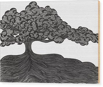 Untitled 36 Wood Print