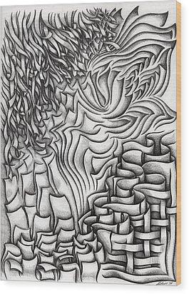Untitled 39 Wood Print