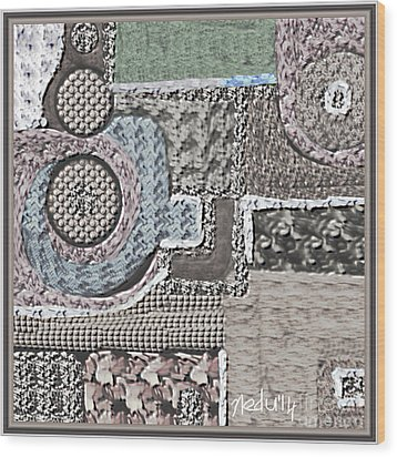 Untitled 439 Wood Print by Nedunseralathan R