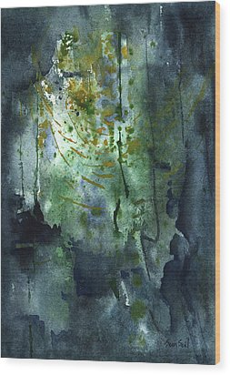 Untitled Abstract 128-13 Wood Print by Sean Seal