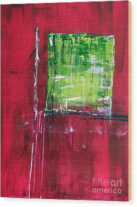 Untitled- Abstract  Wood Print by Ismeta Gruenwald