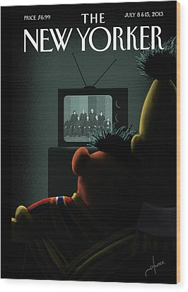 New Yorker July 8th, 2013 Wood Print by Jack Hunter