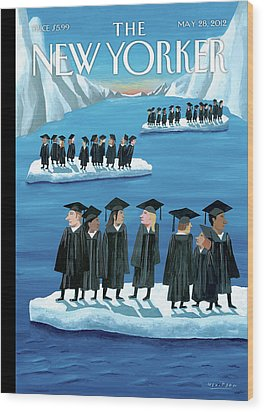 New Yorker May 28th, 2012 Wood Print by Mark Ulriksen