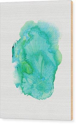 Untitled - #ss14dw001 Wood Print by Satomi Sugimoto