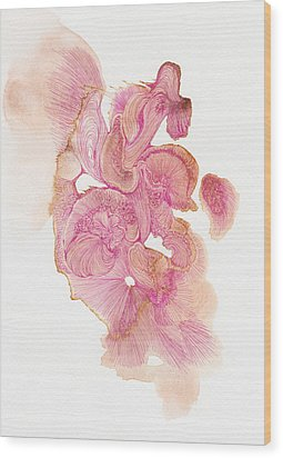 Untitled - #ss14dw002 Wood Print by Satomi Sugimoto