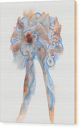Untitled - #ss14dw003 Wood Print by Satomi Sugimoto