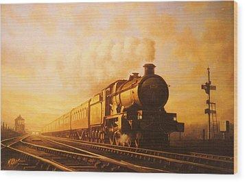 Up Express To Paddington Wood Print