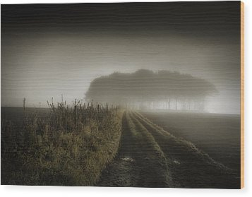 Wood Print featuring the photograph Up On T Moor... by Russell Styles