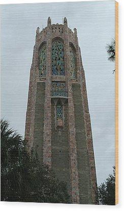 Upper Bok Tower Wood Print
