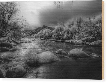 Upper Kern River Wood Print