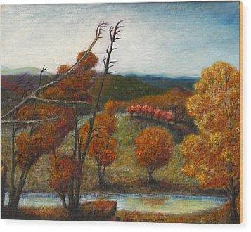 Upstate Wood Print