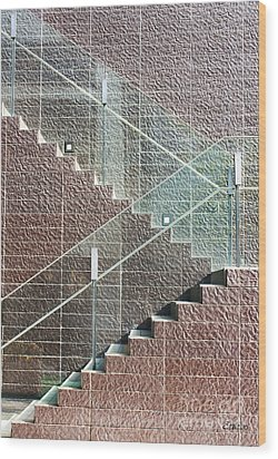 Urban Abstract Wood Print by Eena Bo