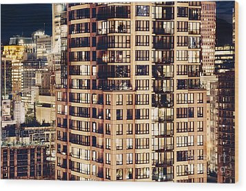 Urban Living Dclxxiv By Amyn Nasser Wood Print