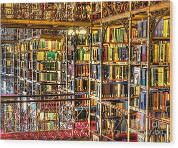 Uris Library Cornell University Wood Print