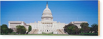 Us Capitol, Washington Dc, District Of Wood Print