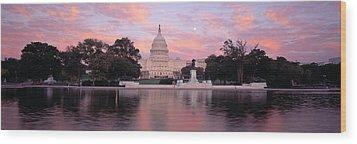 Us Capitol Washington Dc Wood Print