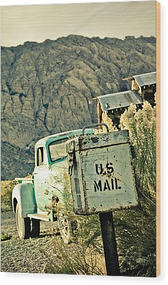 Us Mail Wood Print by Merrick Imagery