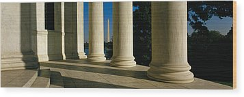 Usa, District Of Columbia, Jefferson Wood Print by Panoramic Images