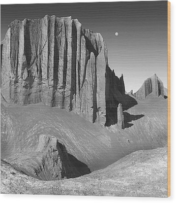 Utah Outback 20 Wood Print by Mike McGlothlen