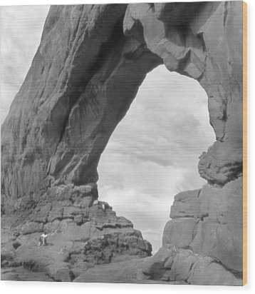 Utah Outback 29 Wood Print by Mike McGlothlen
