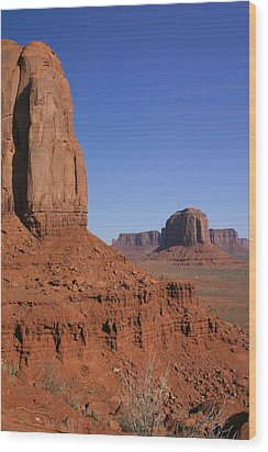 Utah Scenery Wood Print by Diane Bohna