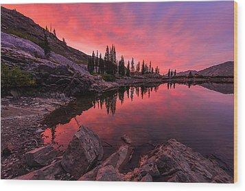 Utah's Cecret Wood Print by Chad Dutson
