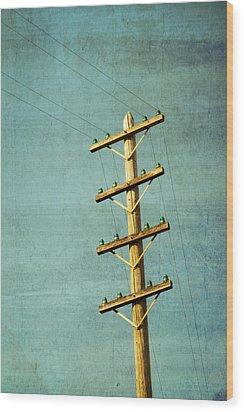 Utilitarian Wood Print