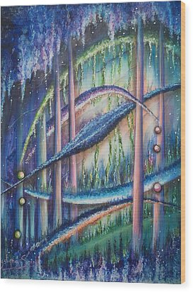 Utopia Wood Print