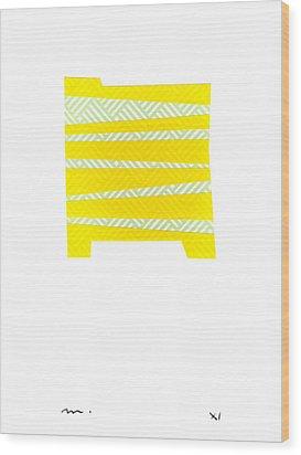 V-v-007 Wood Print by Moran  de Musee