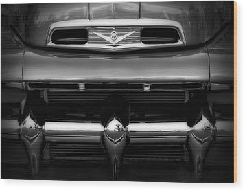 Wood Print featuring the photograph V8 Power by Steven Sparks