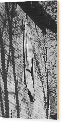 Wood Print featuring the photograph Vacant  by Diane Miller