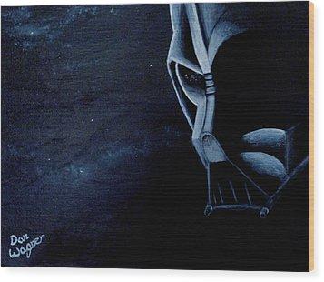 Vader Galaxy Wood Print