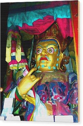 Vaishravana 1 Wood Print by Lanjee Chee