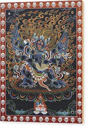 Vajrakilaya Dorje Phurba Wood Print