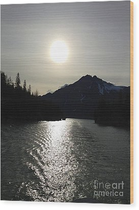 Wood Print featuring the photograph Valdez Water's by J Ferwerda