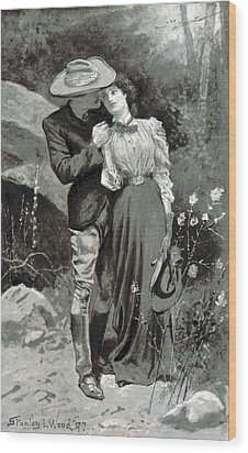 Wood Print featuring the photograph Valentines Day, 1898 by British Library