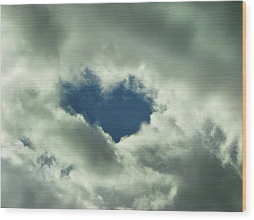 Valentine's Day - Heart Shape Wood Print by Daliana Pacuraru