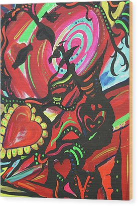 Valentine's Day Wood Print by Lorinda Fore and Tony Lima