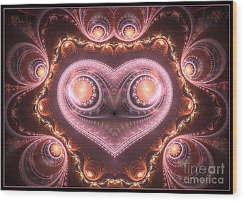 Valentine's Premonition Wood Print by Svetlana Nikolova